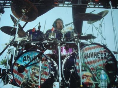Dan Mueller and TJS Custom Drums
