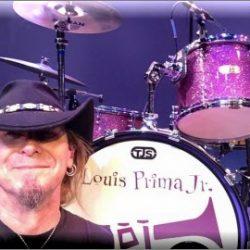 A.D. Adams and his TJS Custom Drums
