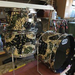 Original TJS Custom Drum Set