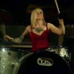 Jessica Rowe on TJS Custom Drums